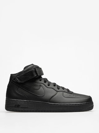 Nike Air Force 1 Mid 07 Shoes (black/black black)