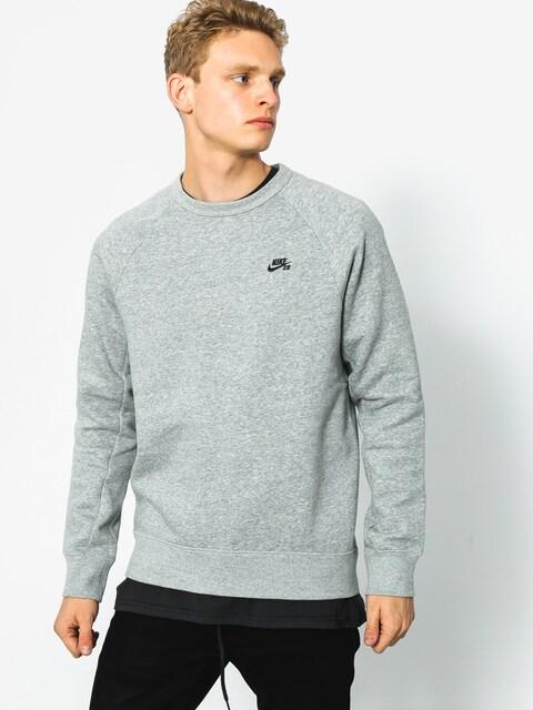 Nike SB Sweatshirt Icon Crew (grey heather)