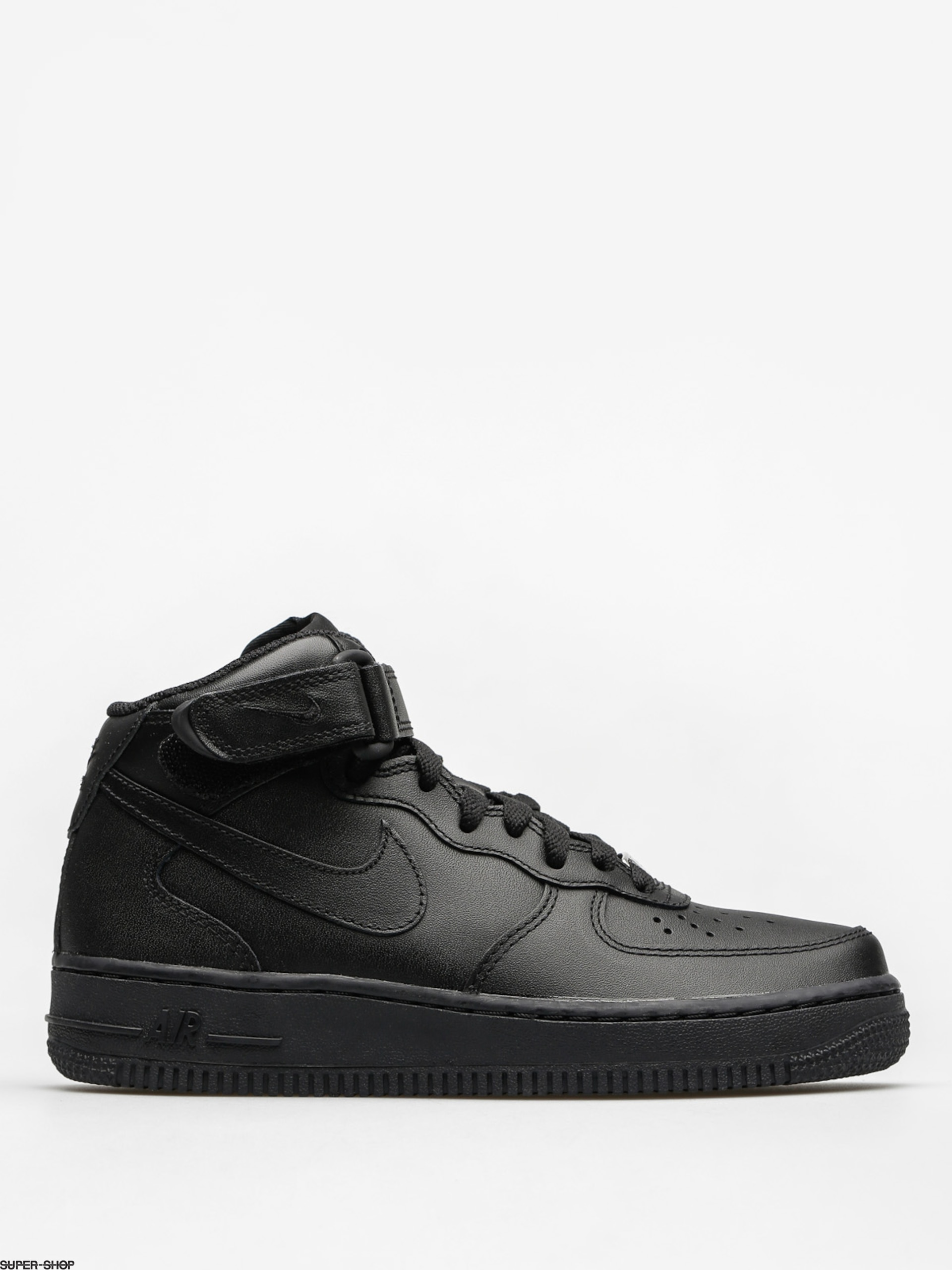 Nike Shoes Air Force 1 Mid 07 Le Wmn (black/black)