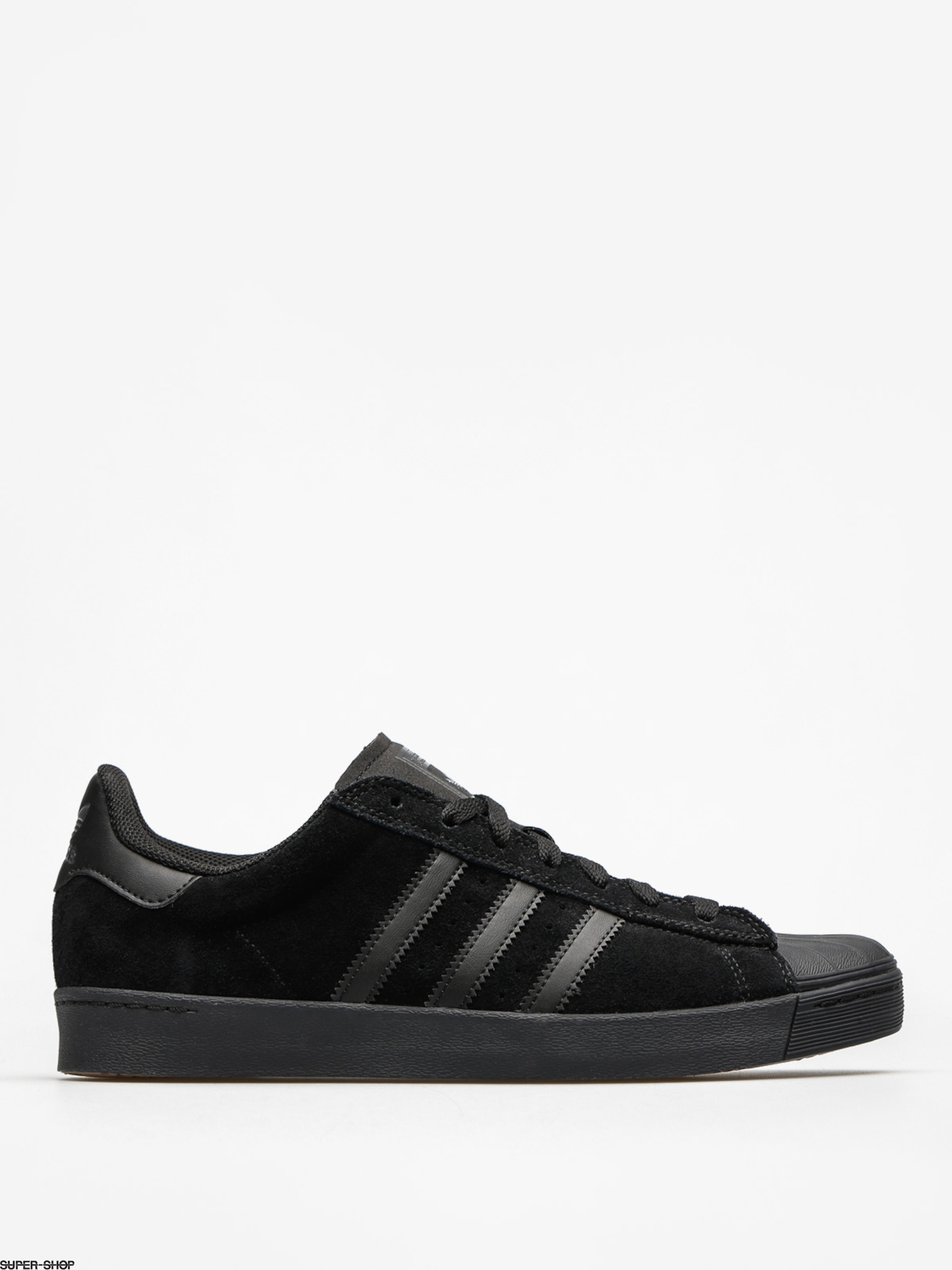 adidas Shoes Superstar Vulc Adv (core black/core black/core black)
