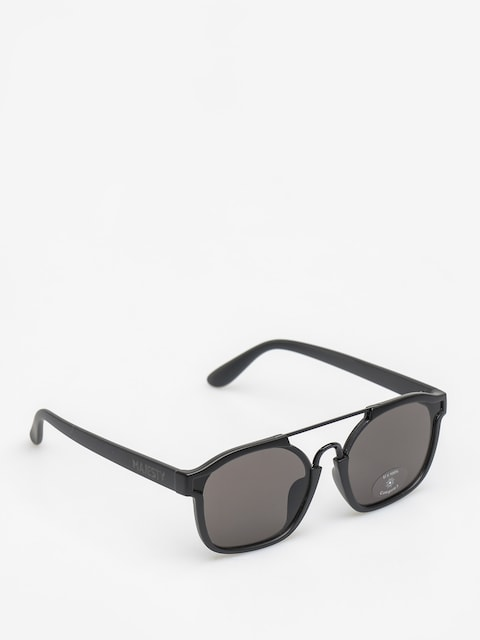 Majesty Sunglasses Wire (matt black/black pearl lens)
