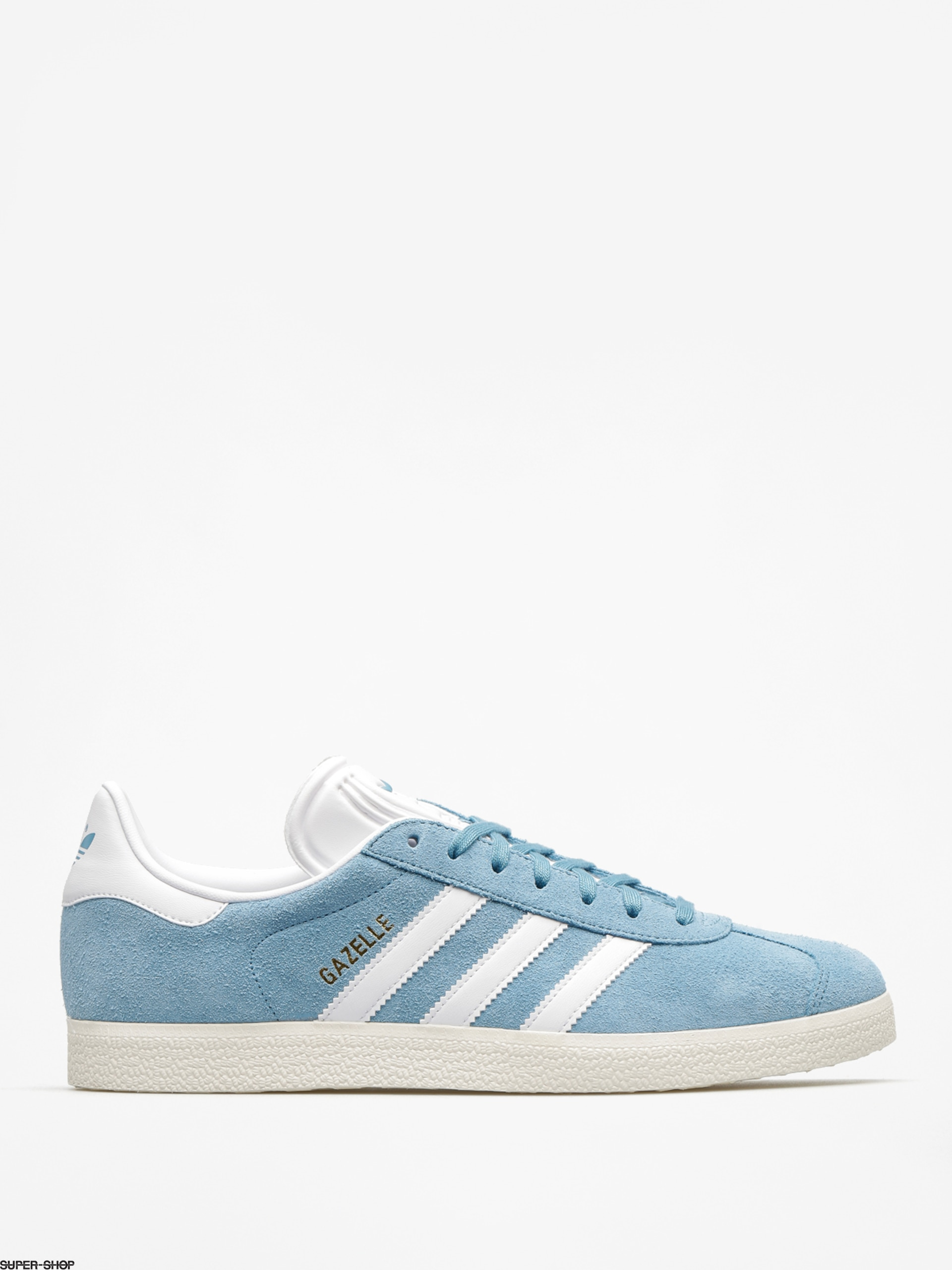 adidas Shoes Gazelle (tactile steel f17/ftwr white/gold met)