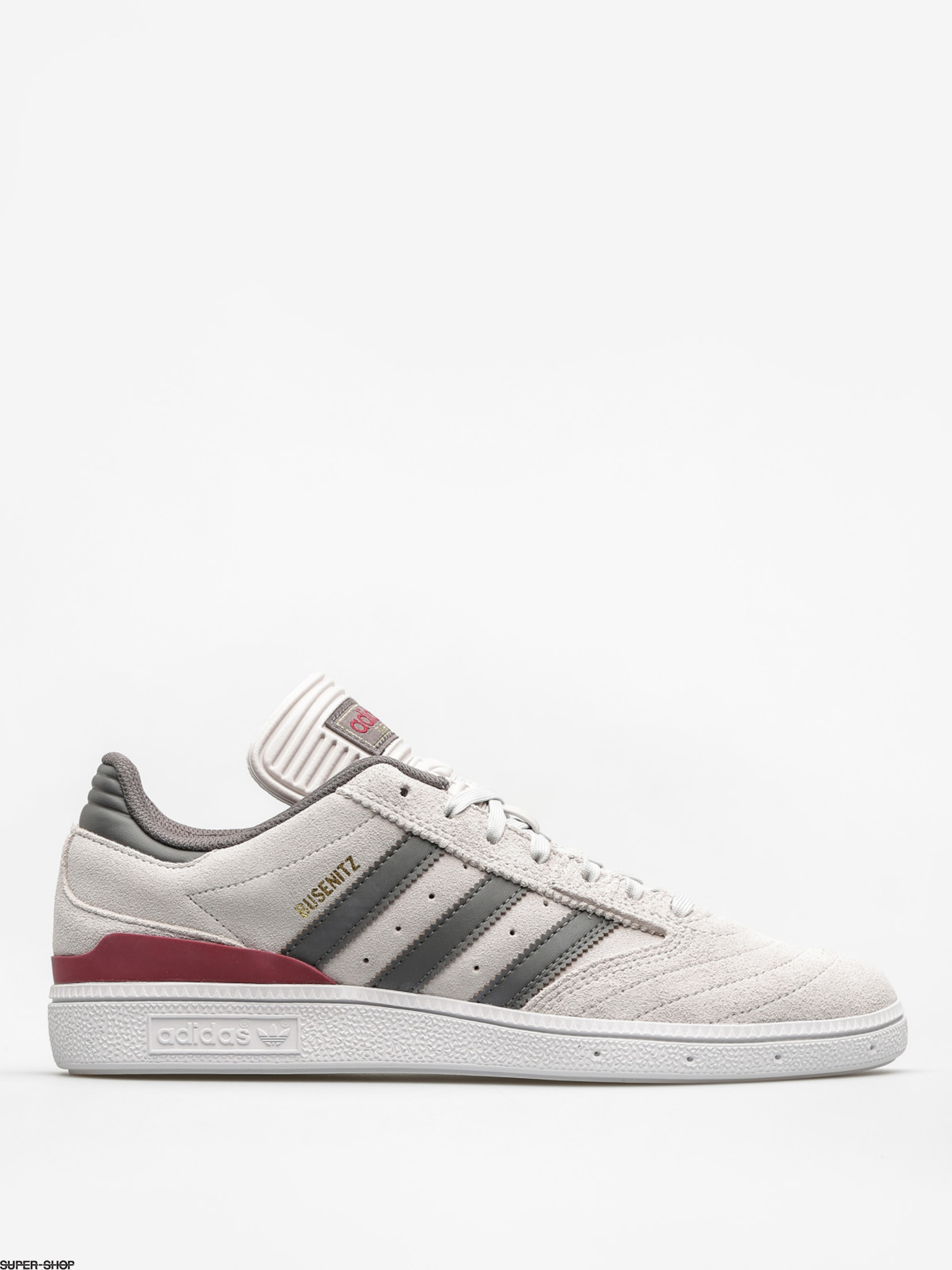 adidas Shoes Busenitz (grey one f17/customized/collegiate burgundy)