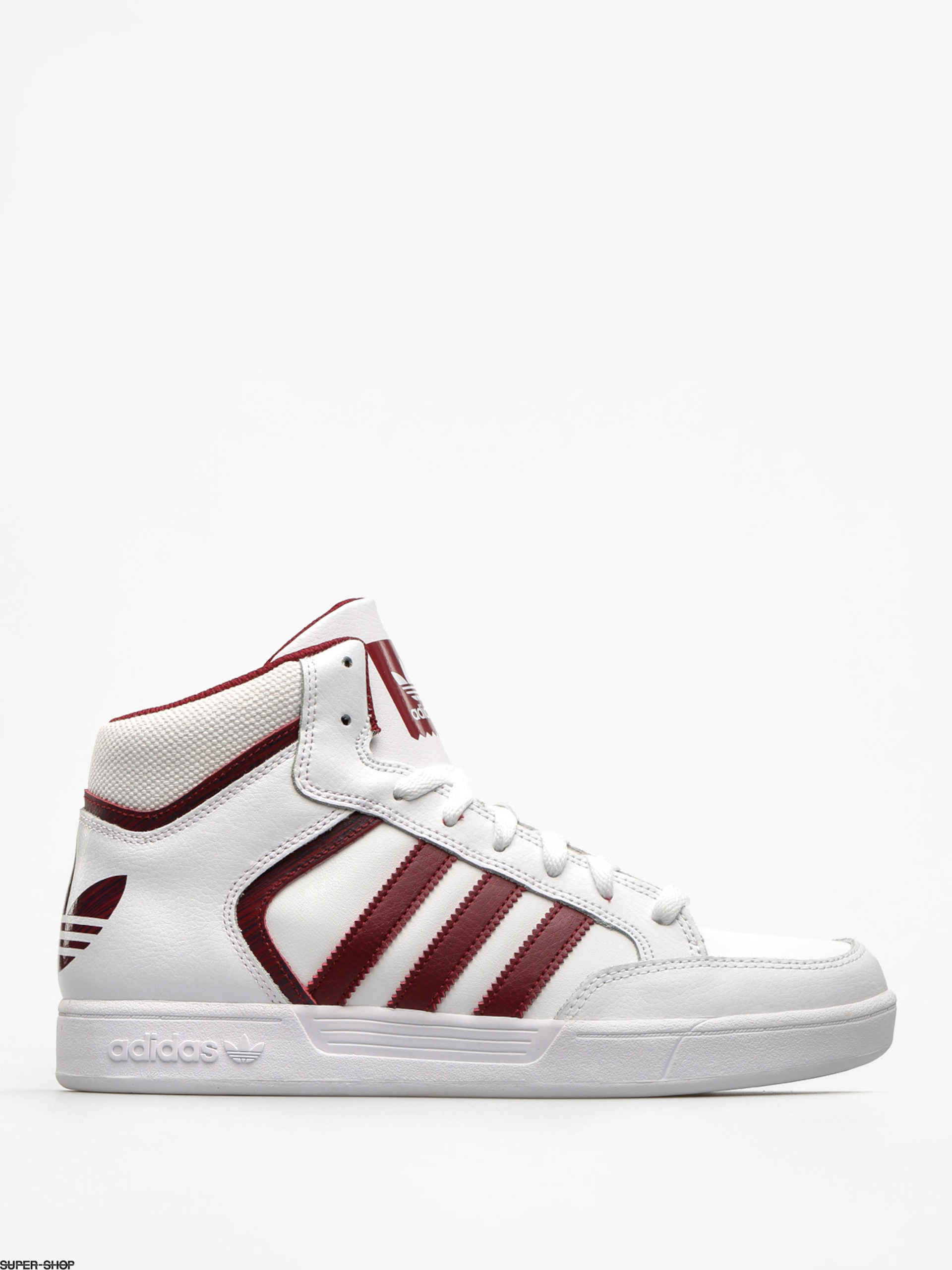 adidas Shoes Varial Mid (ftwr white/collegiate burgundy/ftwr white)