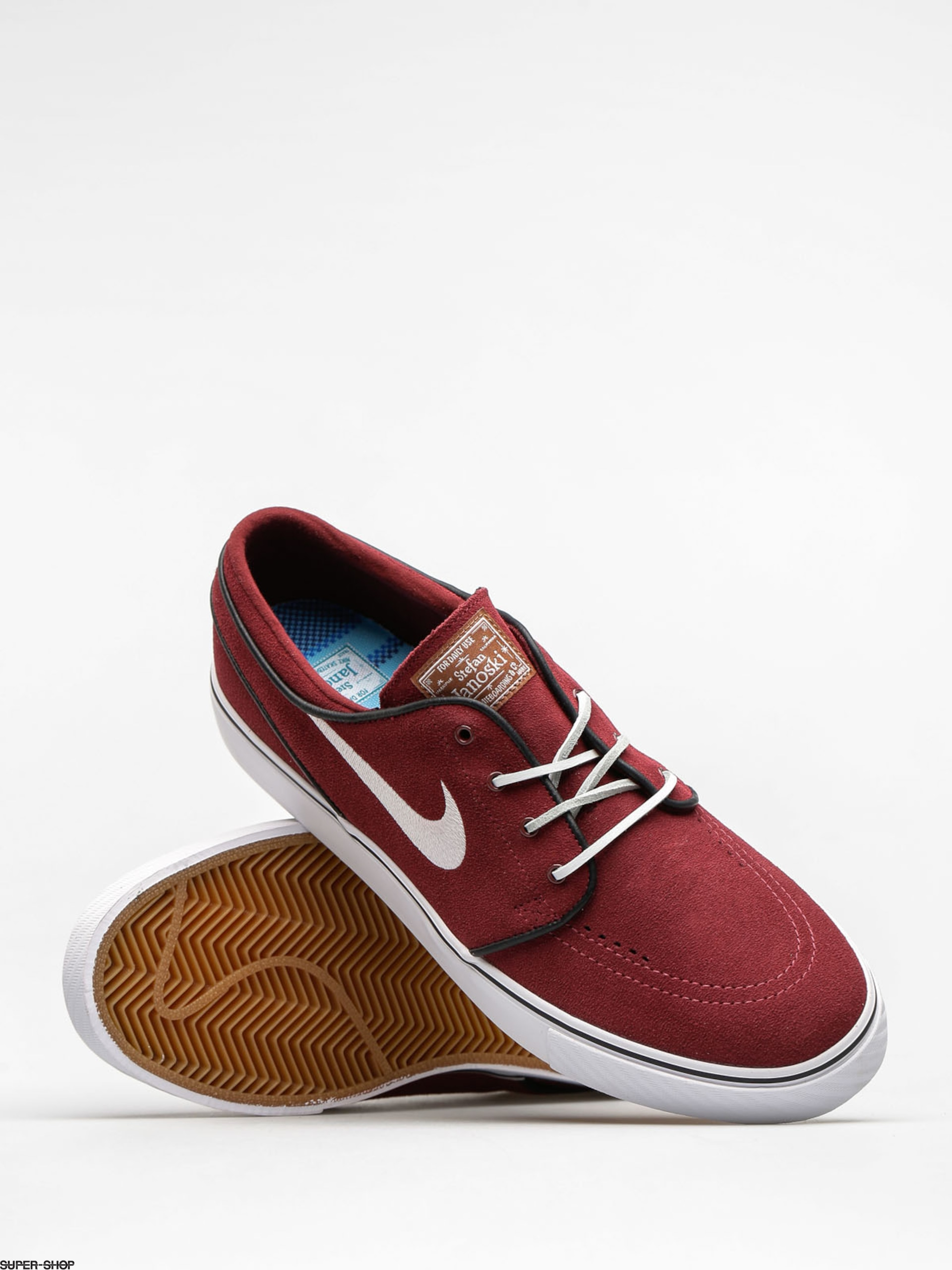 buy popular 2734c 04831 Nike SB Shoes Zoom Stefan Janoski Og (red earth/white black gum med brown)