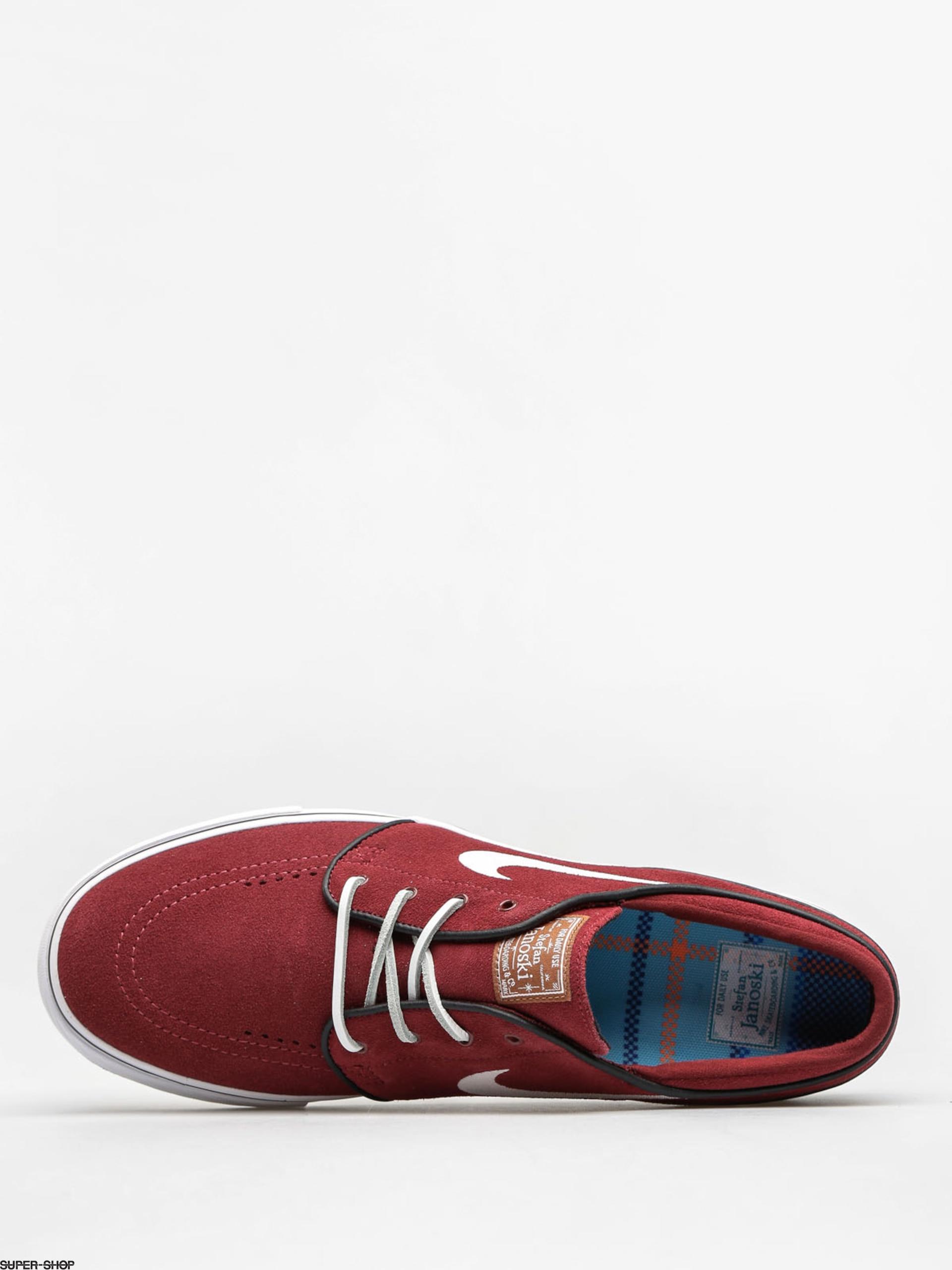 0adb3b65b7d Nike SB Shoes Zoom Stefan Janoski Og (red earth white black gum med brown)