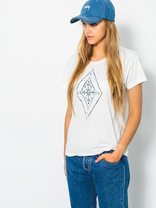 Roxy T-Shirt Alex Palm Tribal Wmn (marshmallow)