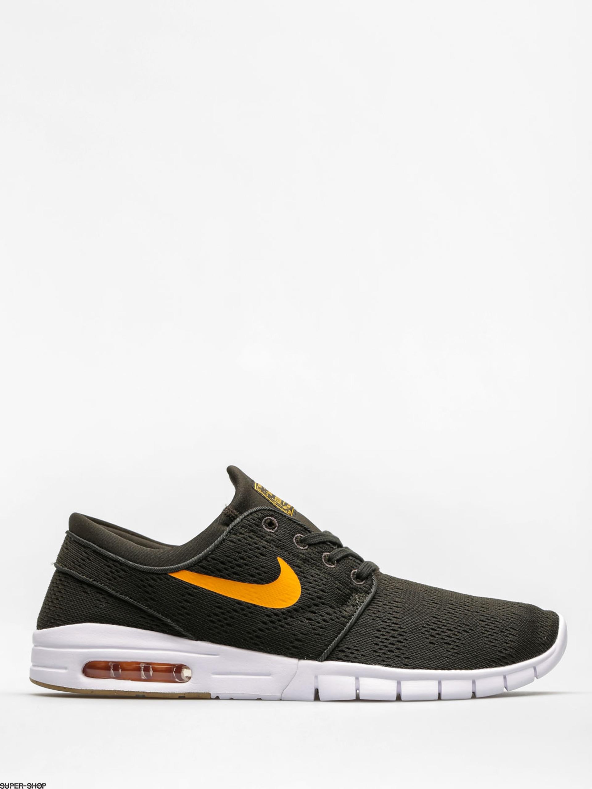 e42cb2f4b7 Nike SB Shoes Stefan Janoski Max (sequoia/circuit orange gum light brown)