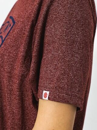 Element T-Shirt Bern (oxblood red)