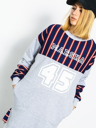 Marska Sweatshirt Oldschool 45 Wmn (grey/navy)