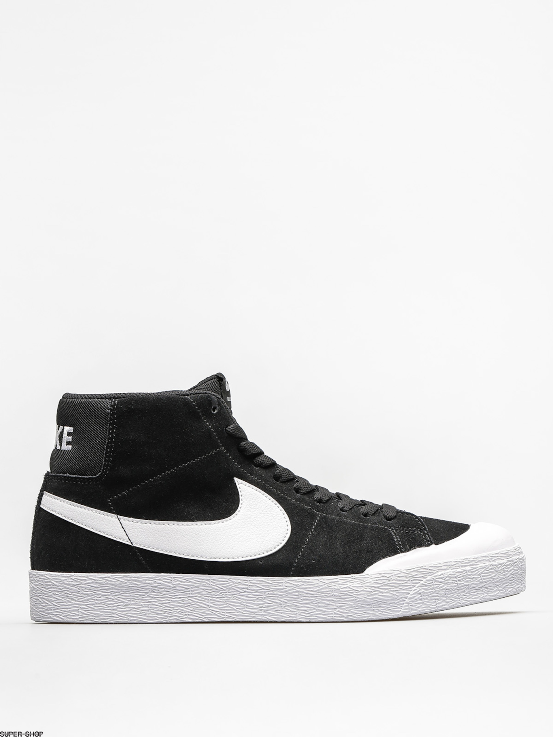 Nike SB Shoes Zoom Blazer Mid Xt (black/white gum light brown)
