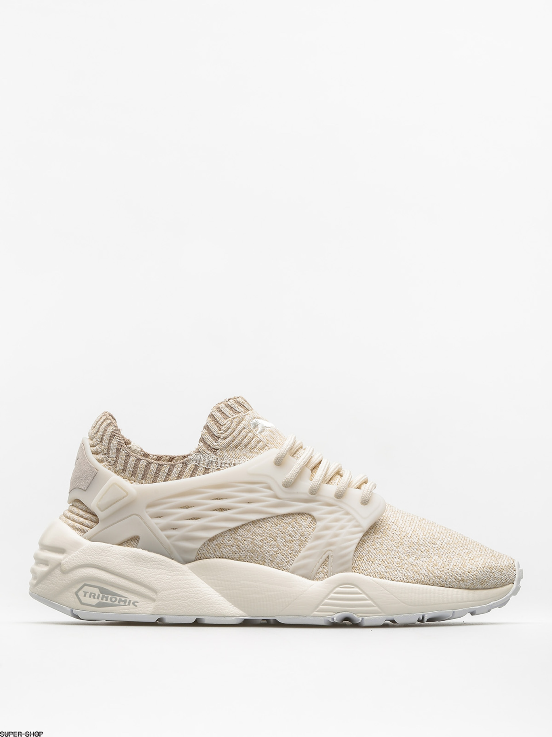 Puma Shoes Blaze Cage Evo Knit Wn S Wmn (marshmallow/safari/birch/whisper white)