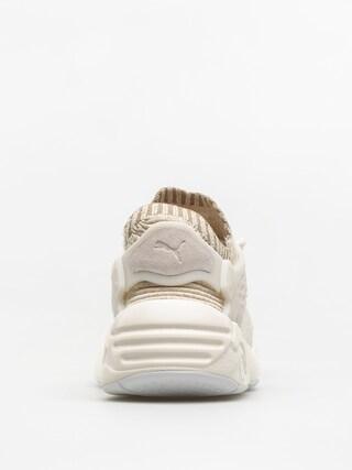 Puma Schuhe Blaze Cage Evo Knit Wn S Wmn (marshmallow/safari/birch/whisper white)