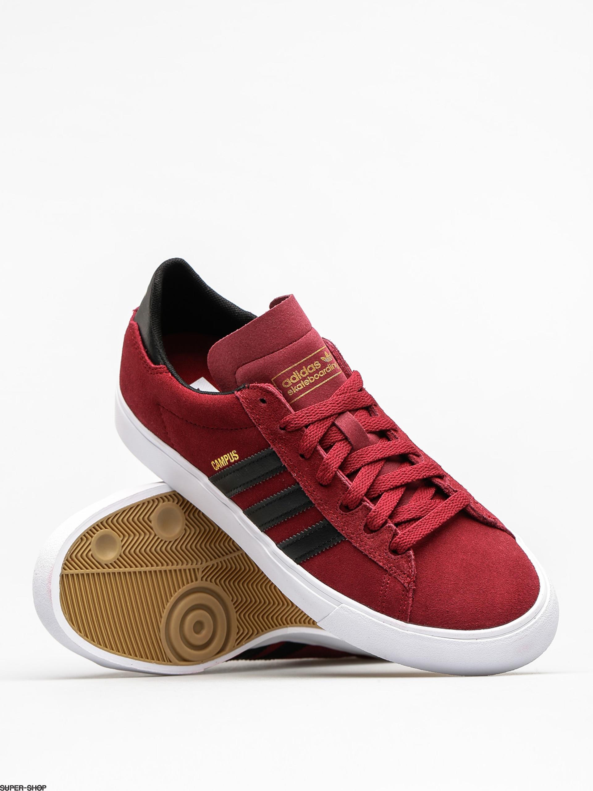 super popular 72dbf 08338 adidas Shoes Campus Vulc II (collegiate burgundycore blackft