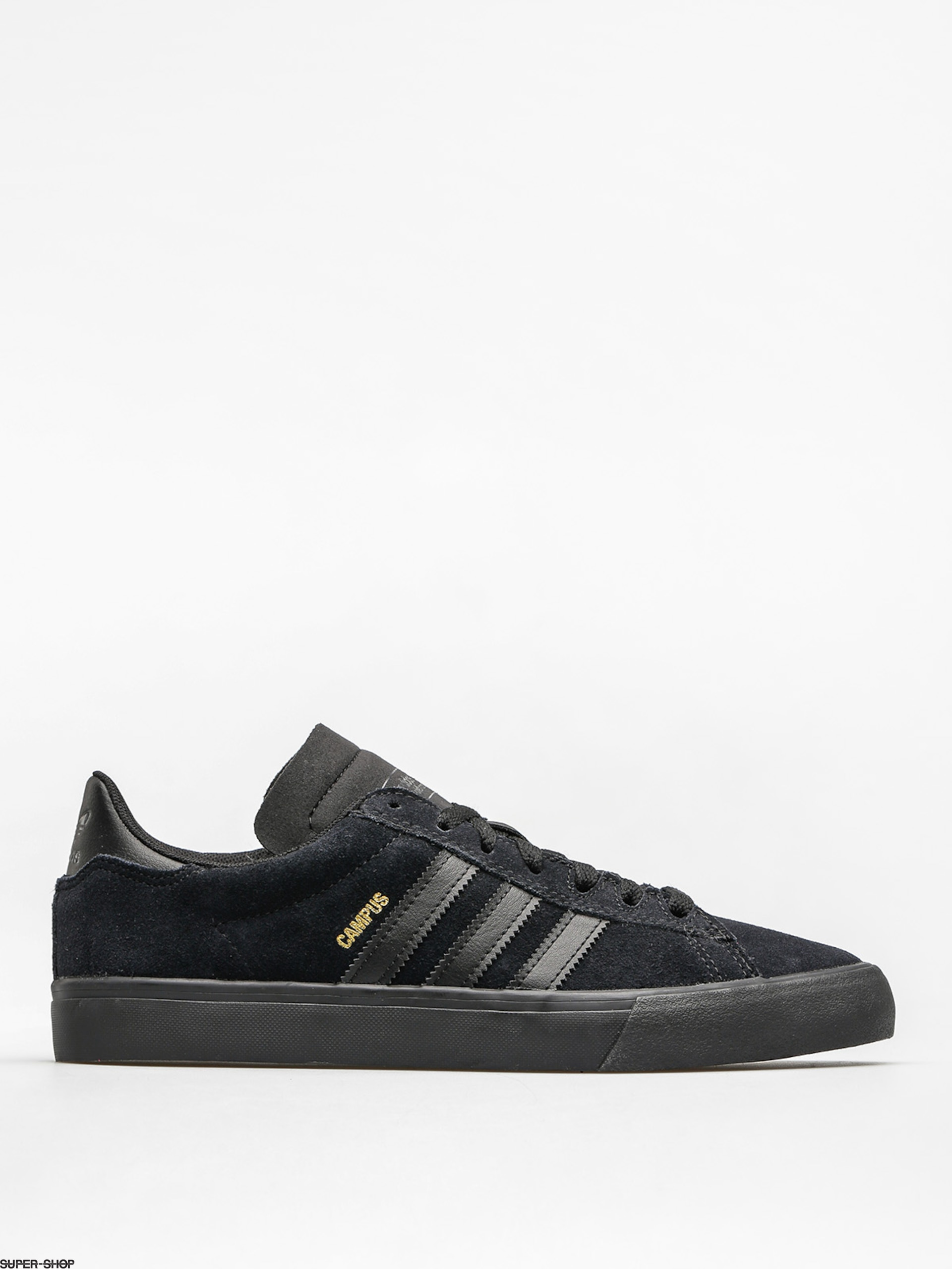 adidas Shoes Campus Vulc II (core black/core black/core black)