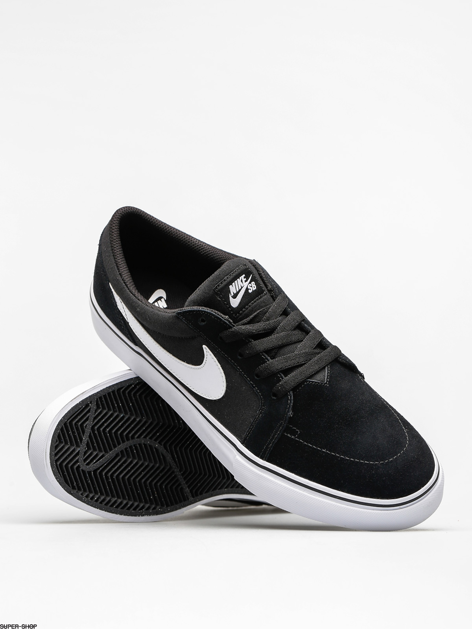 Nike SB Satire II Shoes BlackWhite
