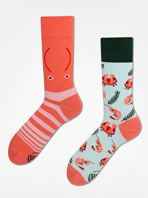 Many Mornings Socks Frutti Di Mare (blue/coral)