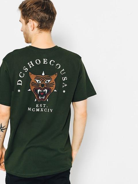 DC T-Shirt Barkly Pocket (dark olive)