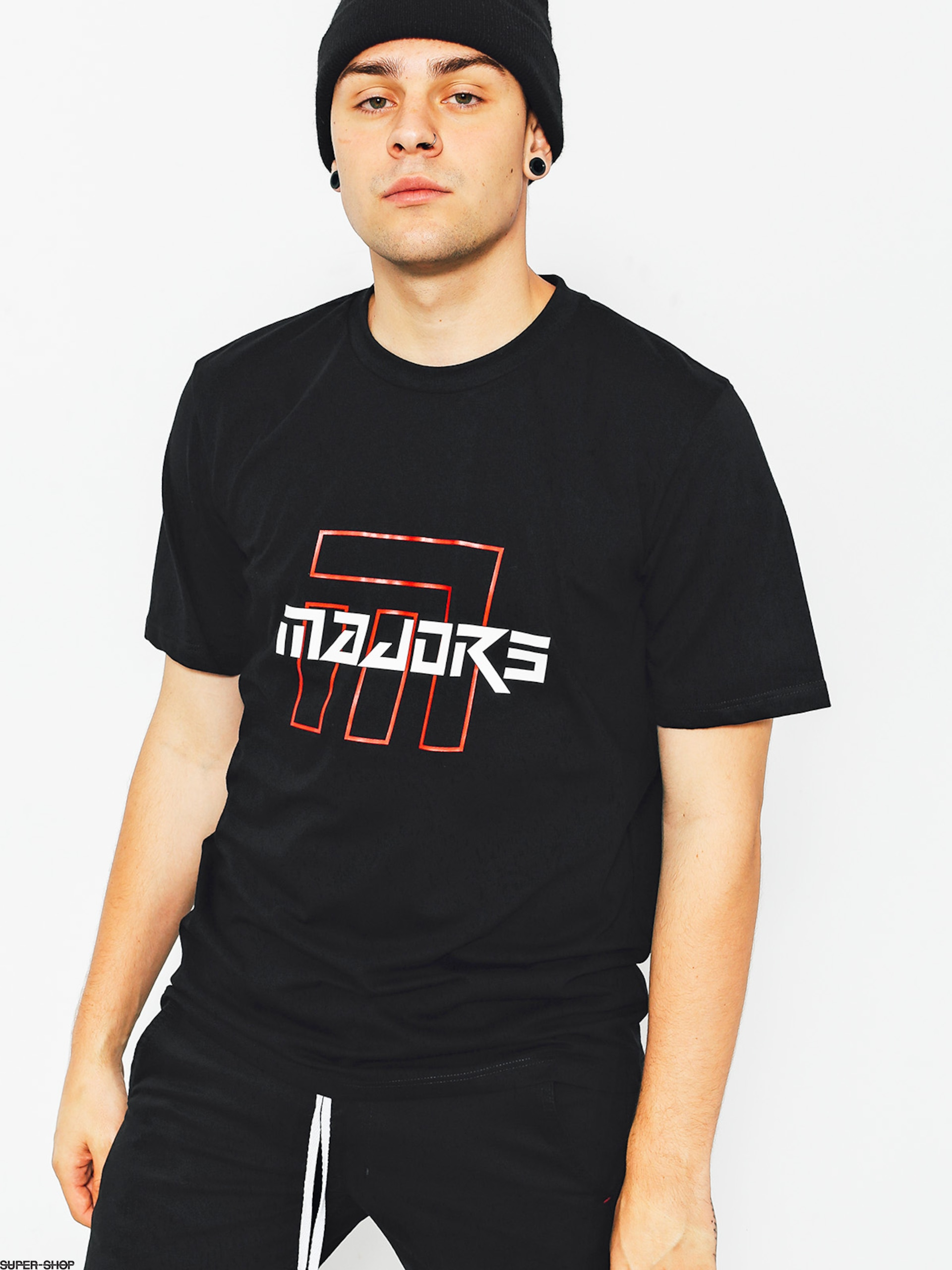 Majors T-shirt Ultra Red