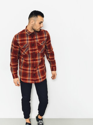 Burton Shirt Brighton Flnl (fired brick balsam)