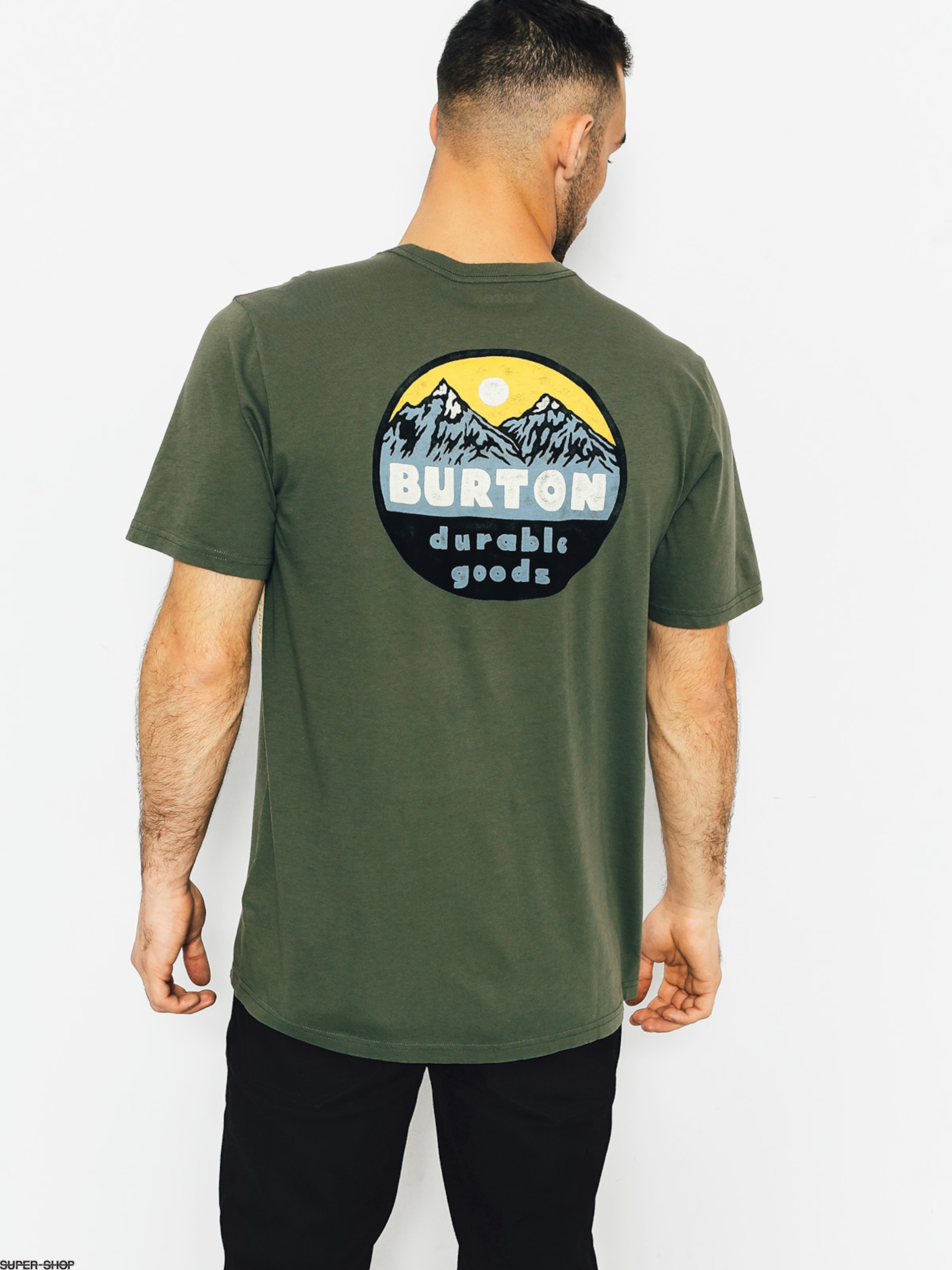 Burton T-shirt Hopewell (dusty olive)