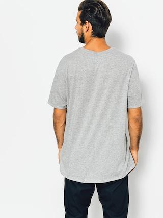 Nike SB T-Shirt Logo (dk grey heather/black)