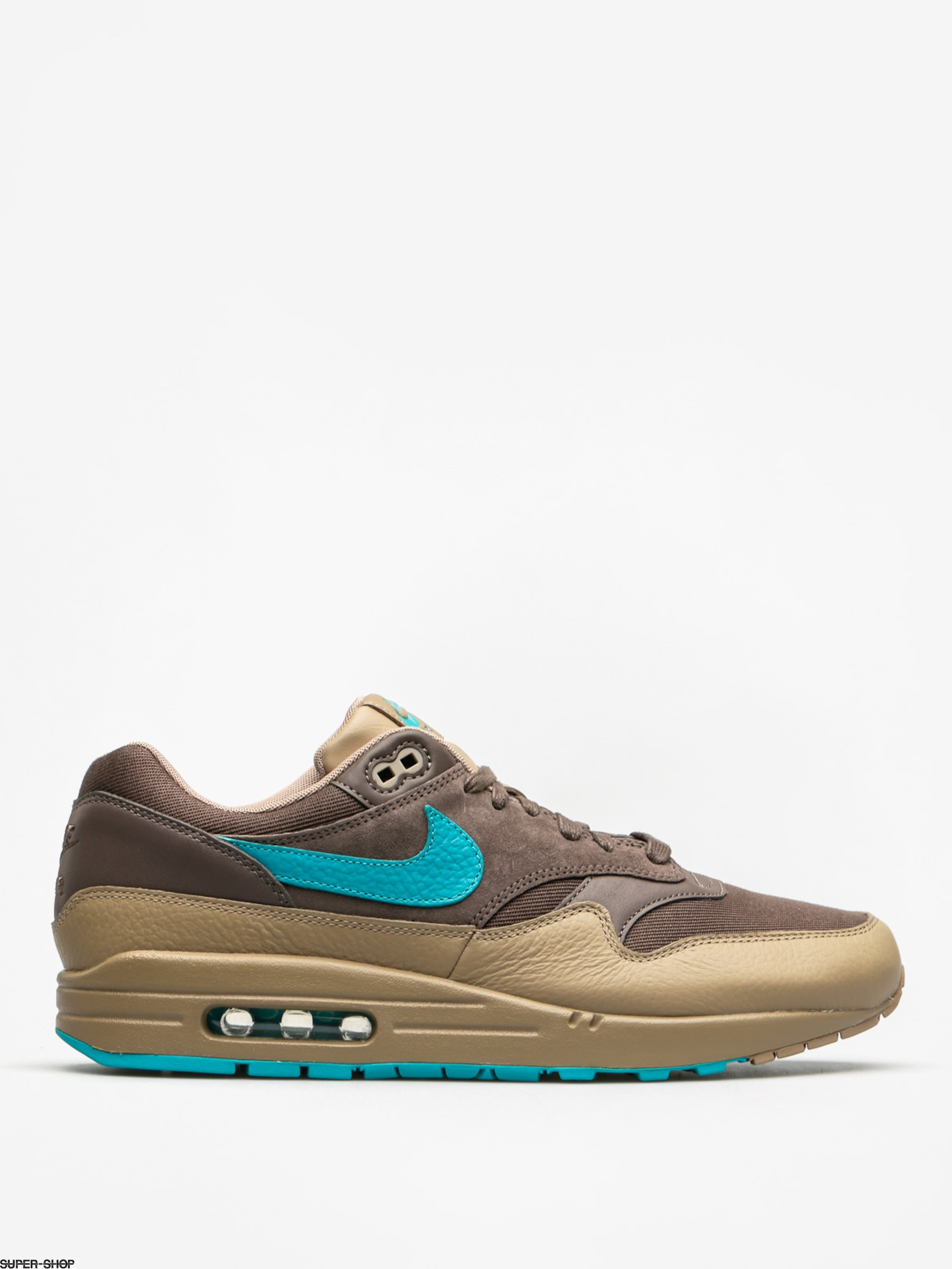 Nike Schuhe Air Max 1 (Premium ridgerock/turbo green khaki)