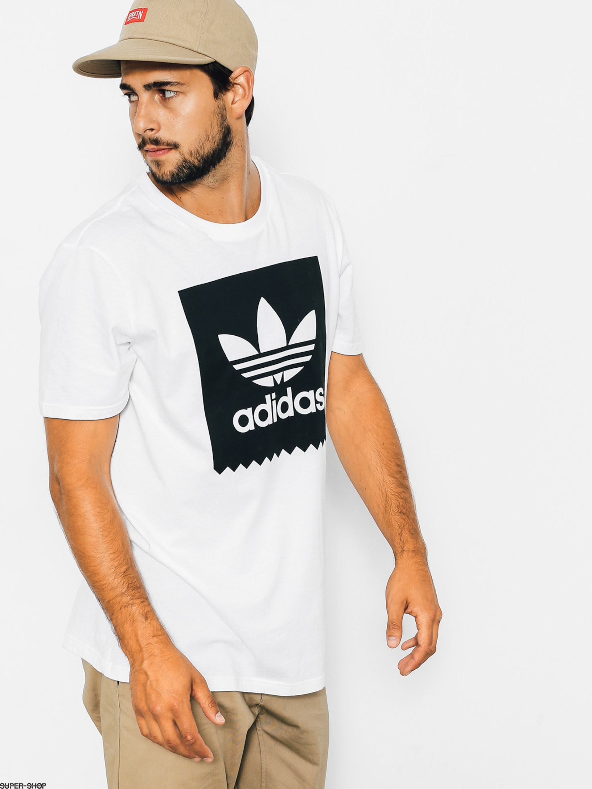 adidas T-shirt Solid Bb (white)