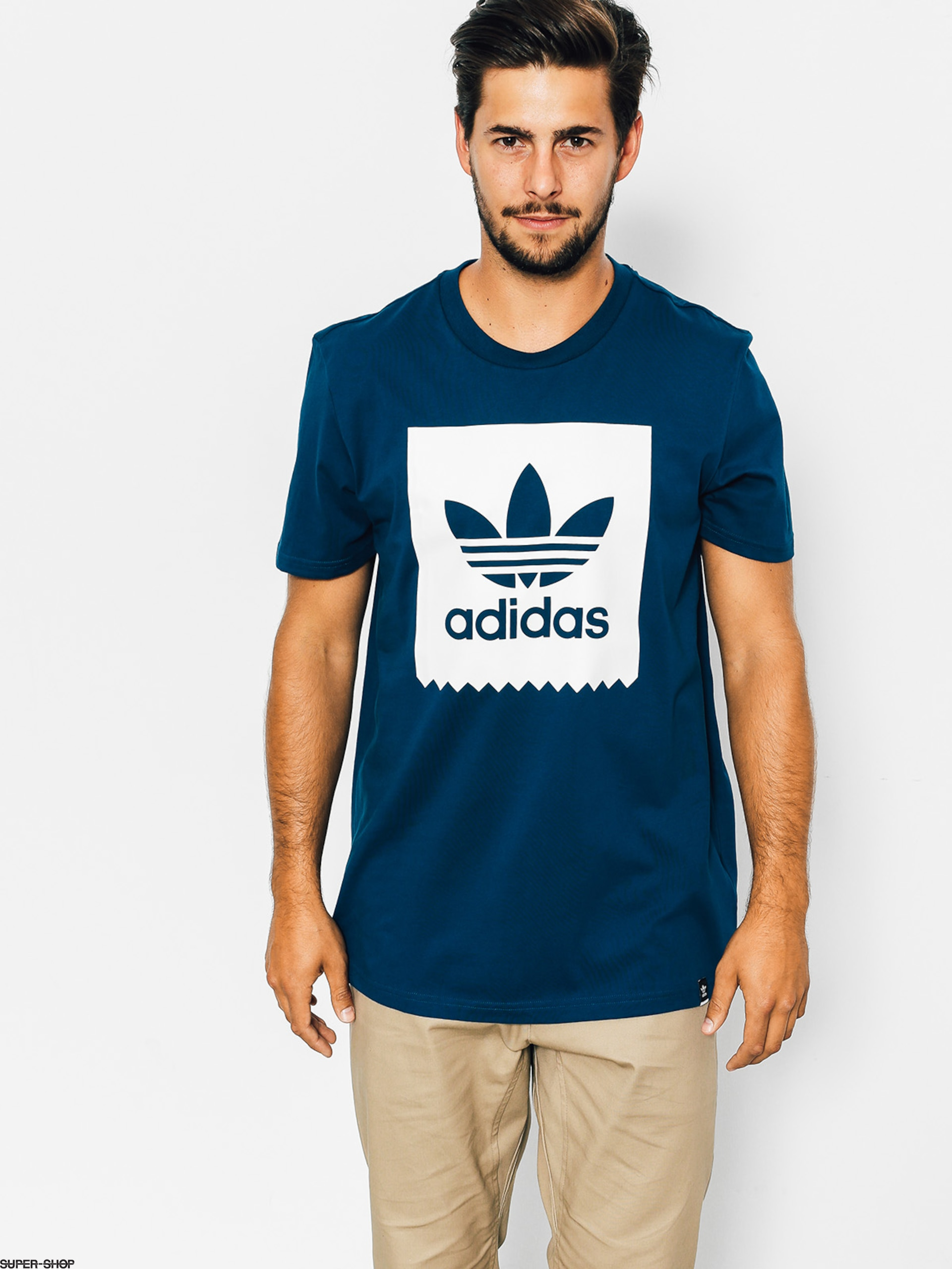adidas T-shirt Solid Bb (blue night f17)
