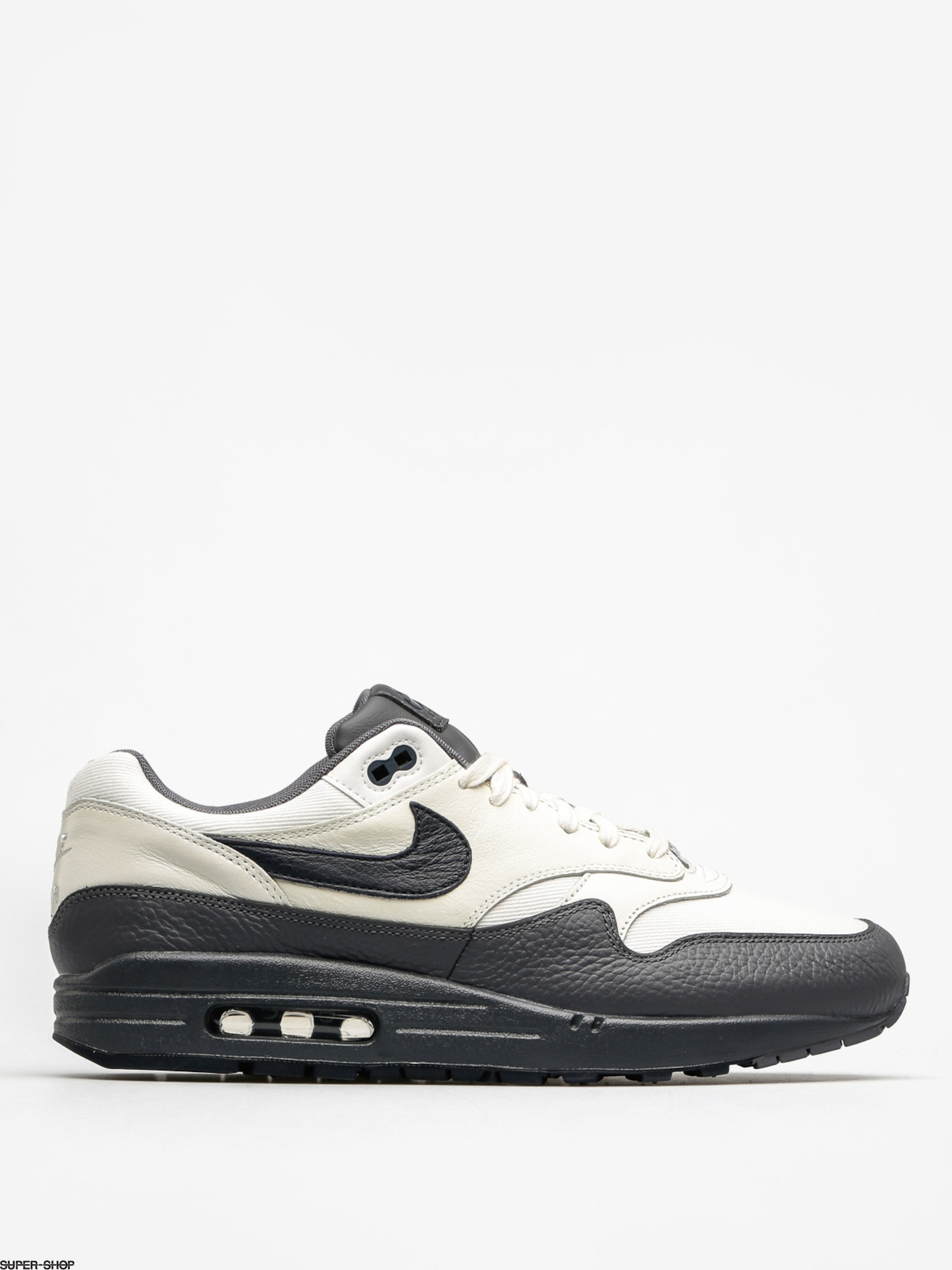 Nike Schuhe Air Max 1 (Premium sail/dark obsidian dark grey)