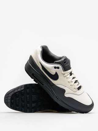 Nike Shoes Air Max 1 (Premium sail/dark obsidian dark grey)