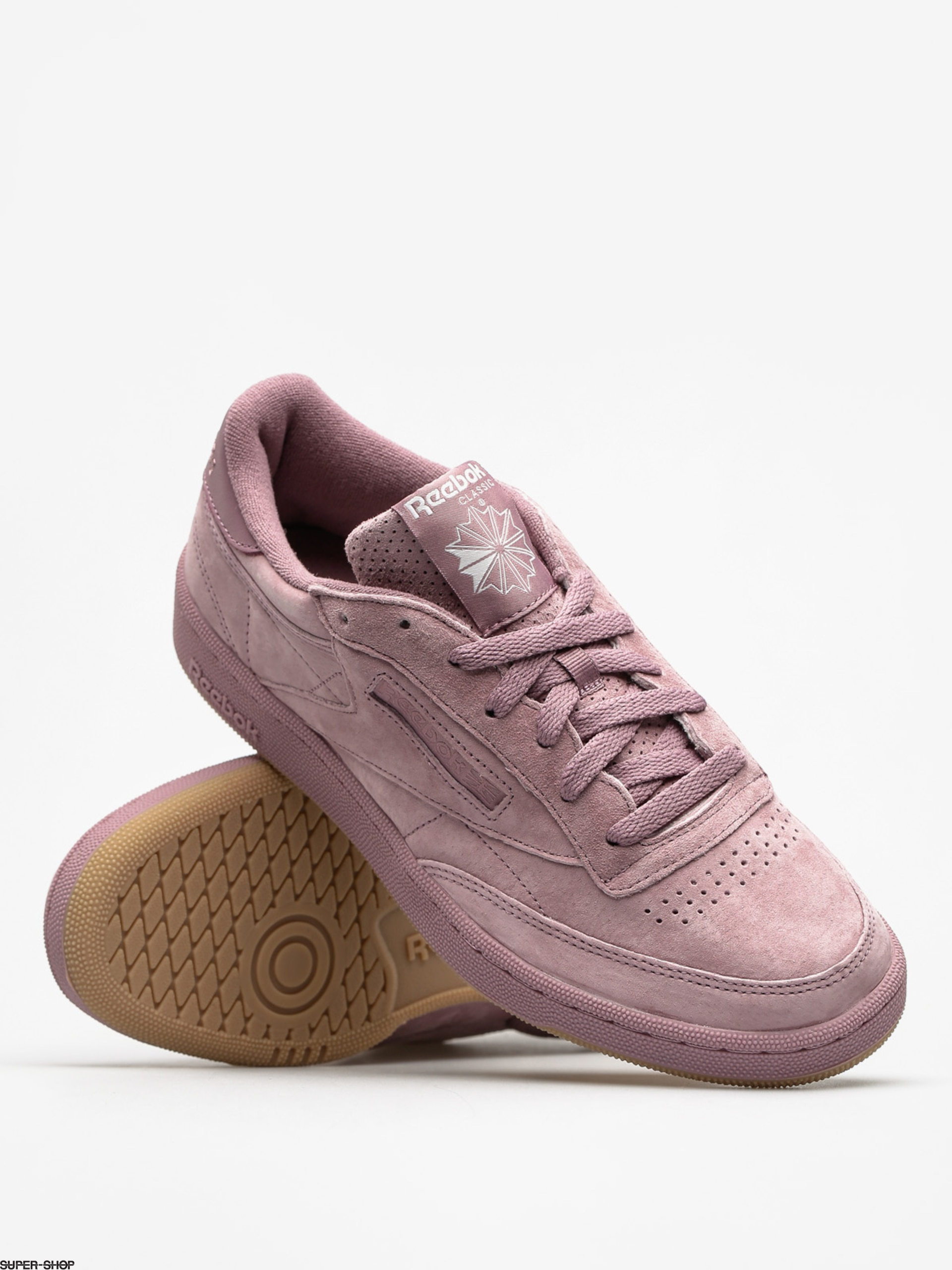 aef6b4558e2f Reebok Shoes Club C 85 Sg (smoky orchid white gu)