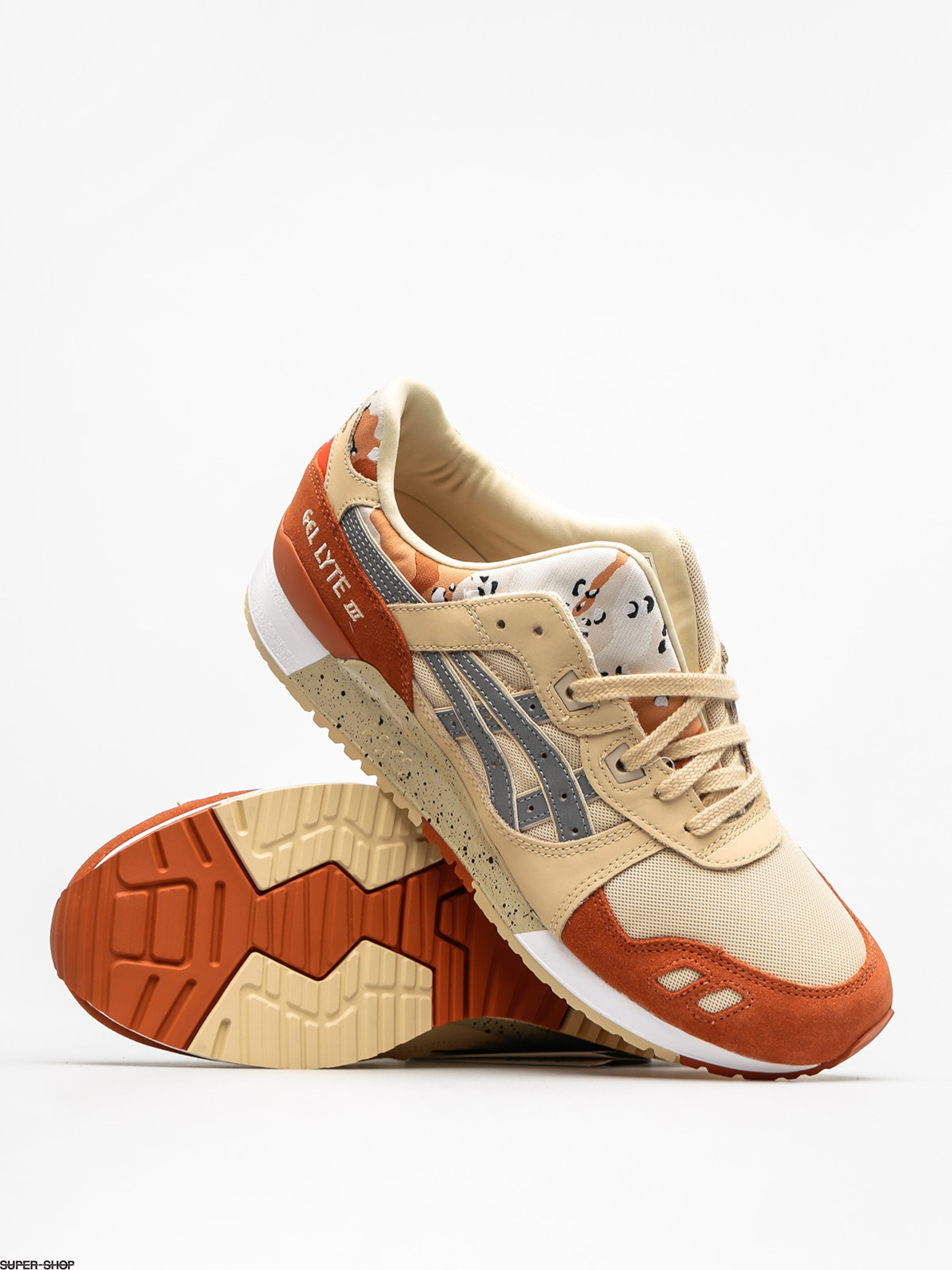 online retailer 534ff aaa1c ASICS Tiger Shoes Gel Lyte III (marzipan/silver)
