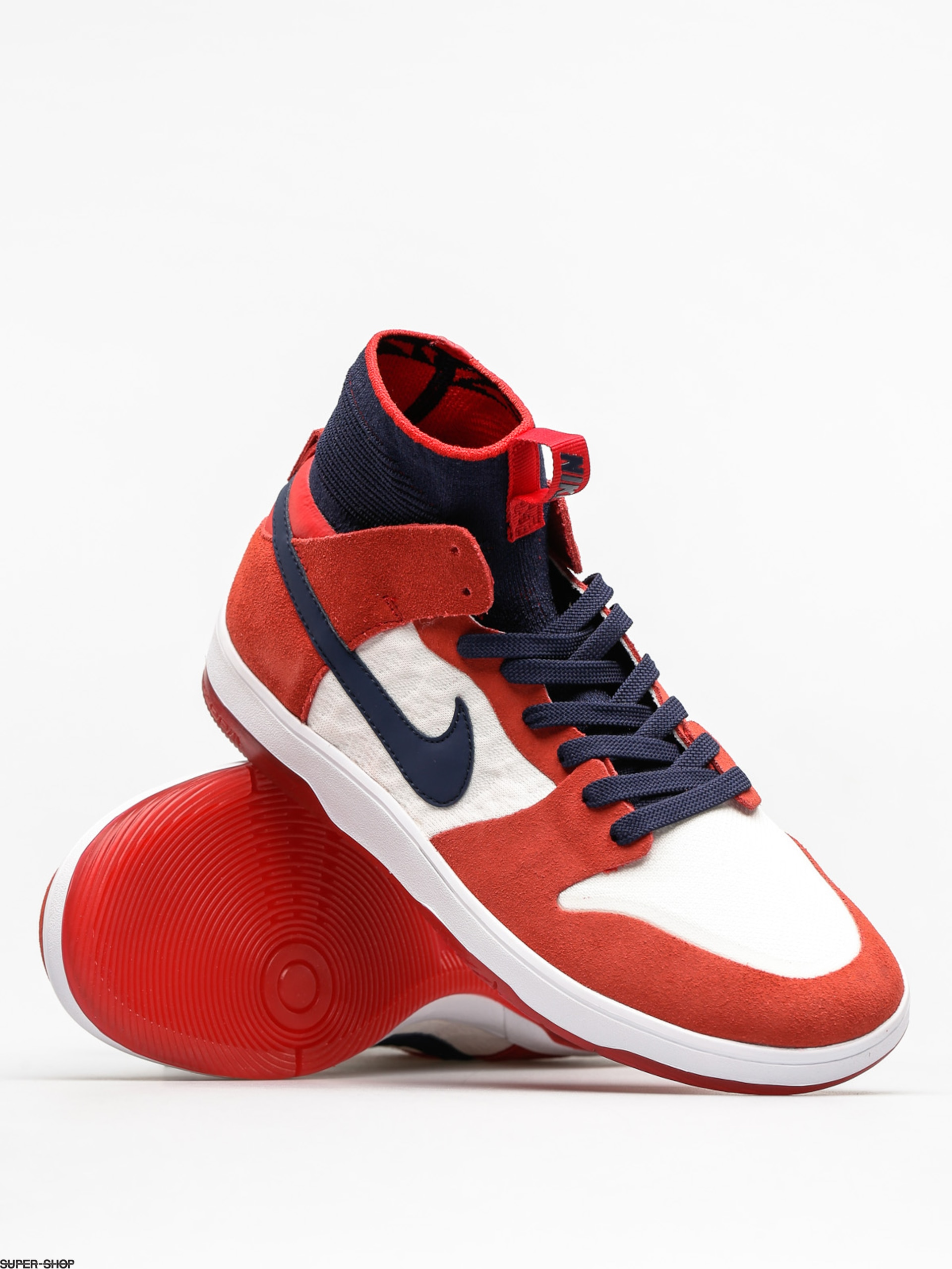 2501d367abf6 Nike SB Shoes Sb Zoom Dunk High Elite (university red college navy white)