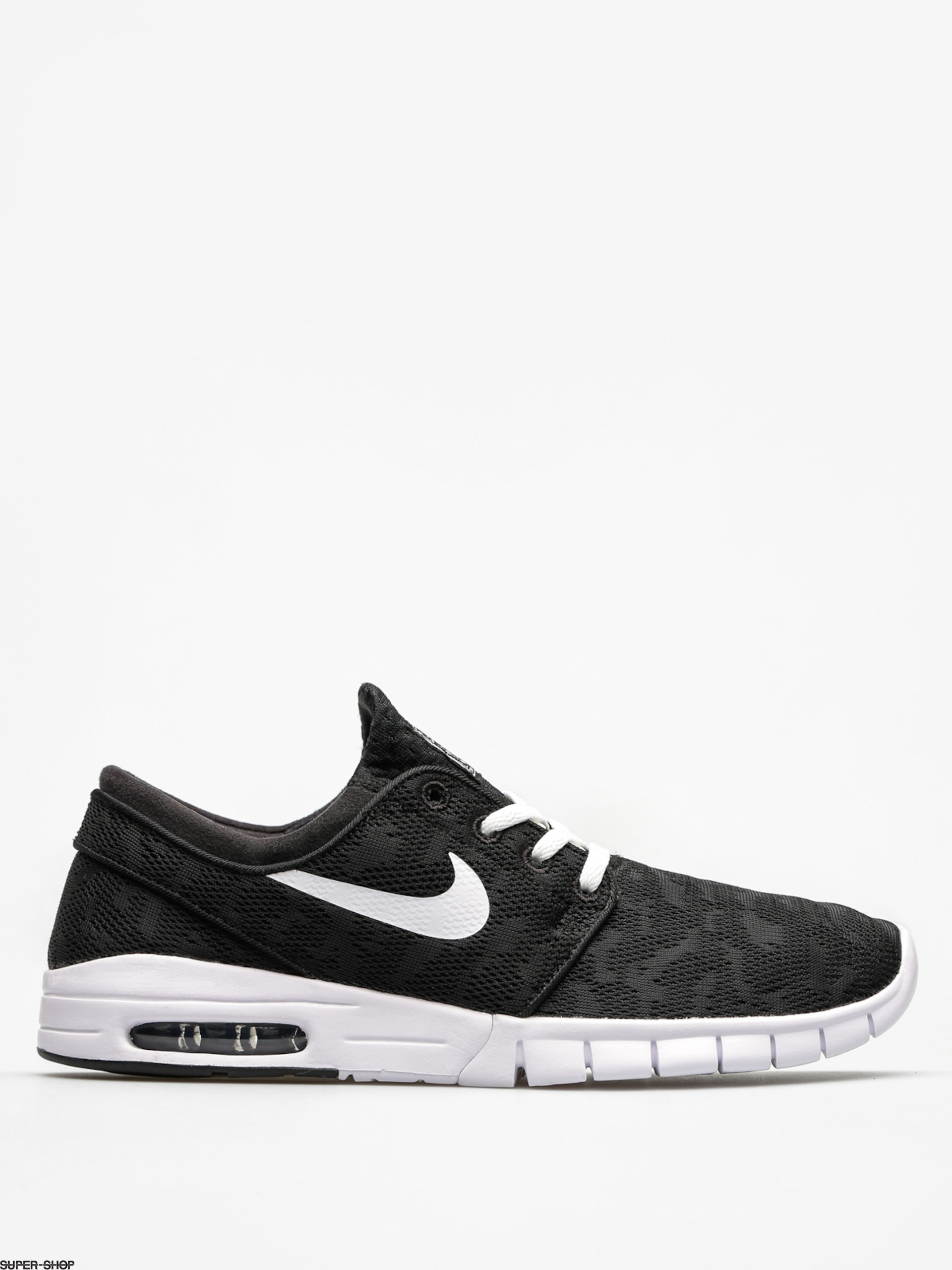 Nike SB Shoes Stefan Janoski Max (black/white)