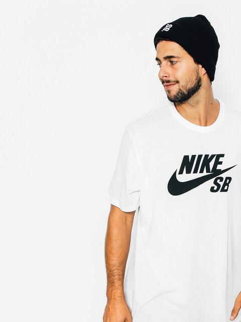 Nike SB T-Shirt Logo (white)