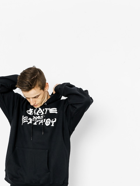 Thrasher Hoodie Skate And Destroy HD (black)