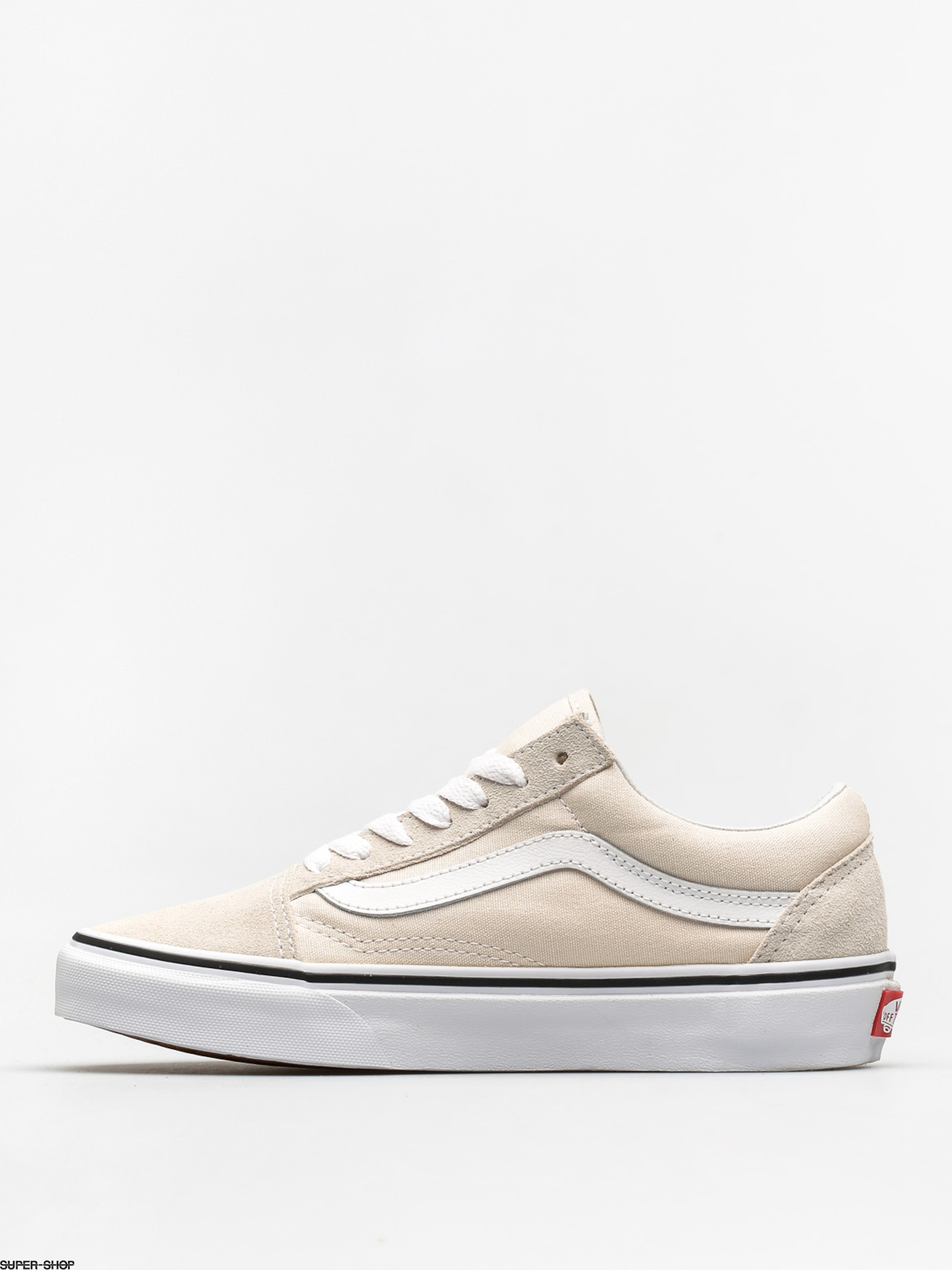 vans shoes old skool birch true white. Black Bedroom Furniture Sets. Home Design Ideas