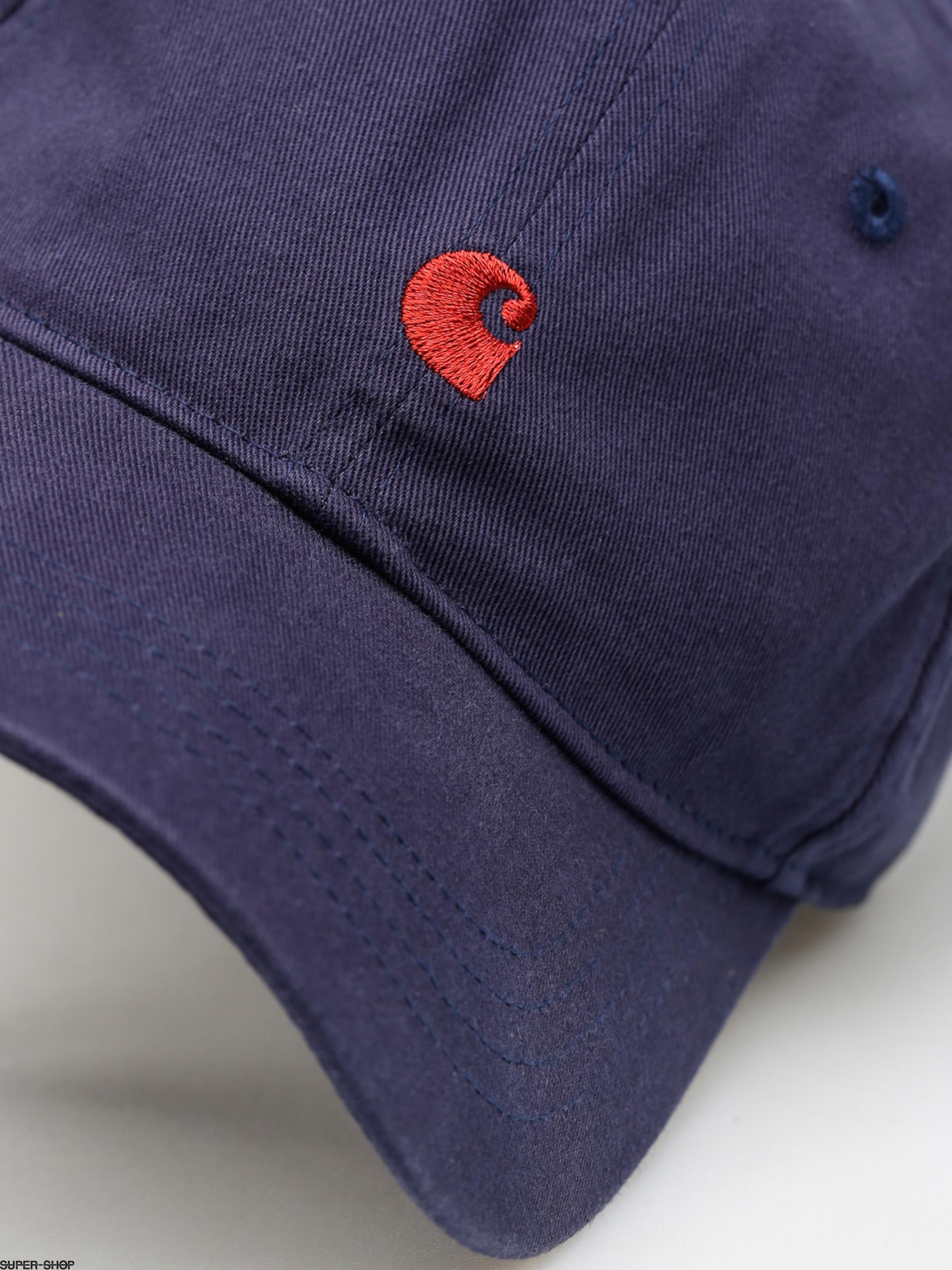 0871ecf1ff9 Carhartt Cap Madison Logo ZD (blue blast red)