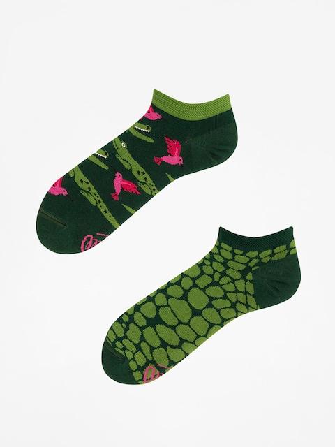Many Mornings Socks Forfiter Low (green)