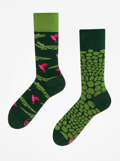Many Mornings Socks Forfiter (green)