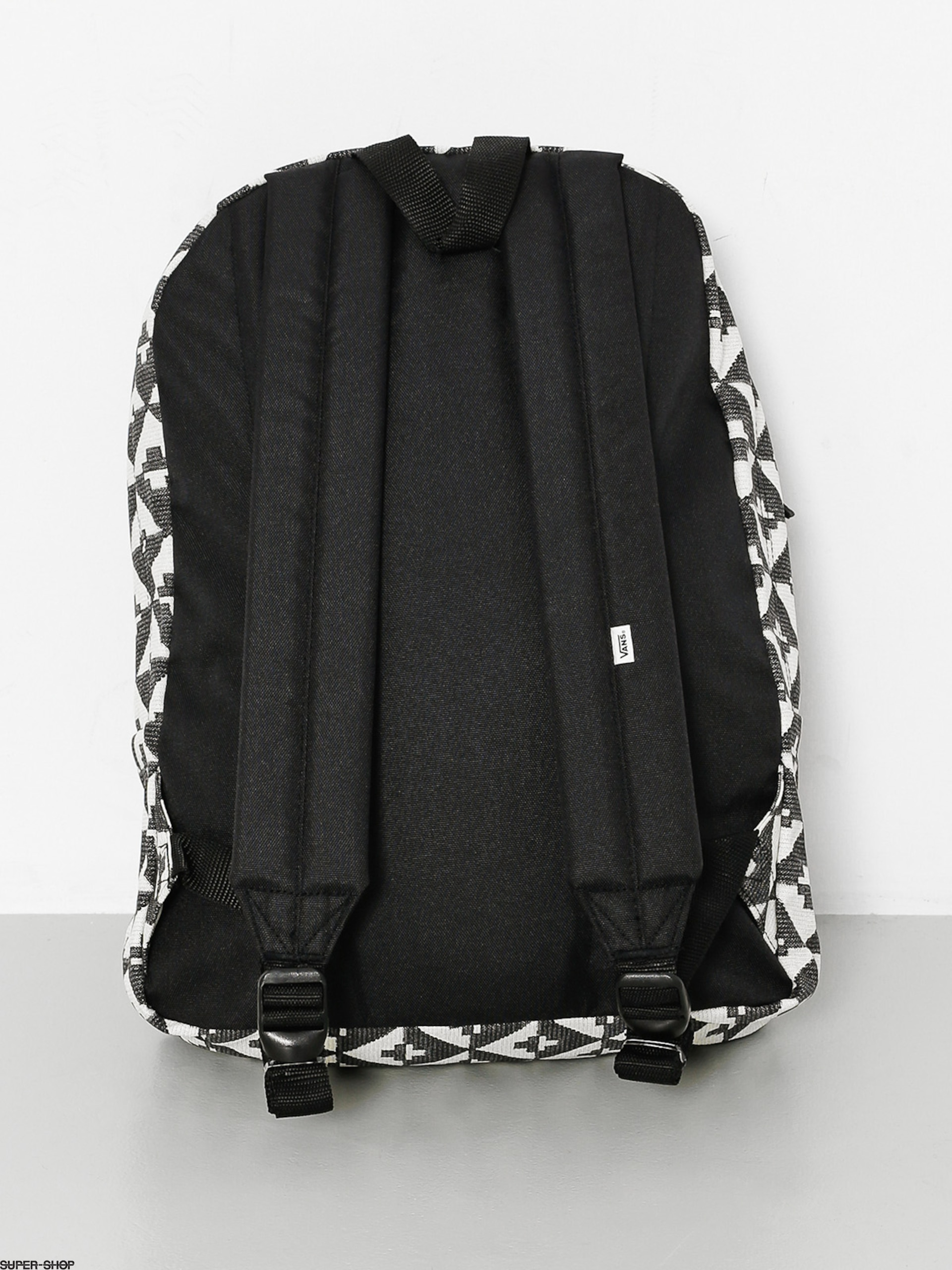 b8eb4a2179 Vans Realm Black And White Geo Backpack- Fenix Toulouse Handball