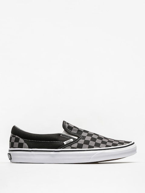 Vans Shoes Classic Slip On (black/pewter checkerboard)
