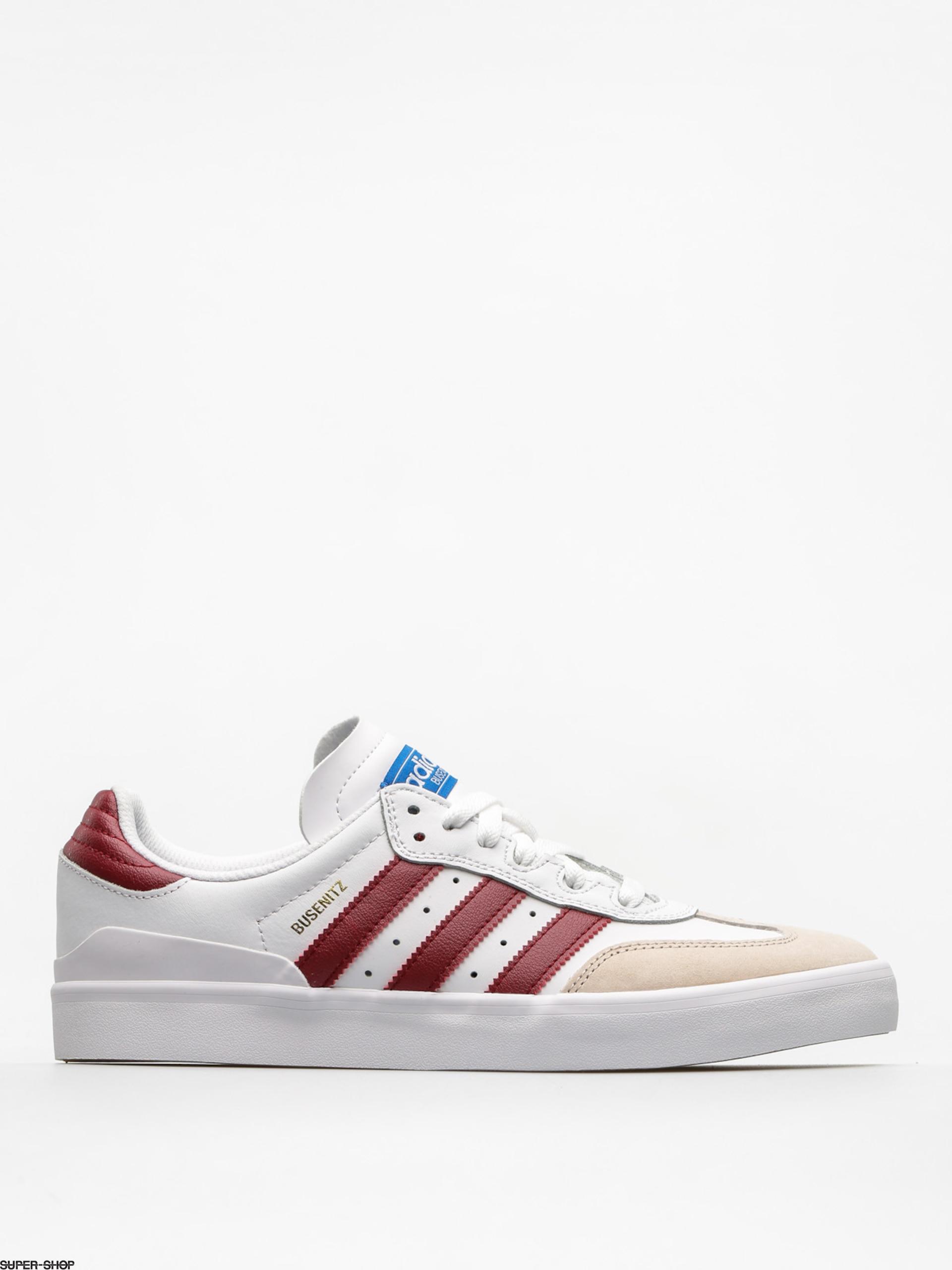 0d6e9b86c698de adidas Shoes Busenitz Vulc Rx (ftwr white collegiate burgundy bluebird)
