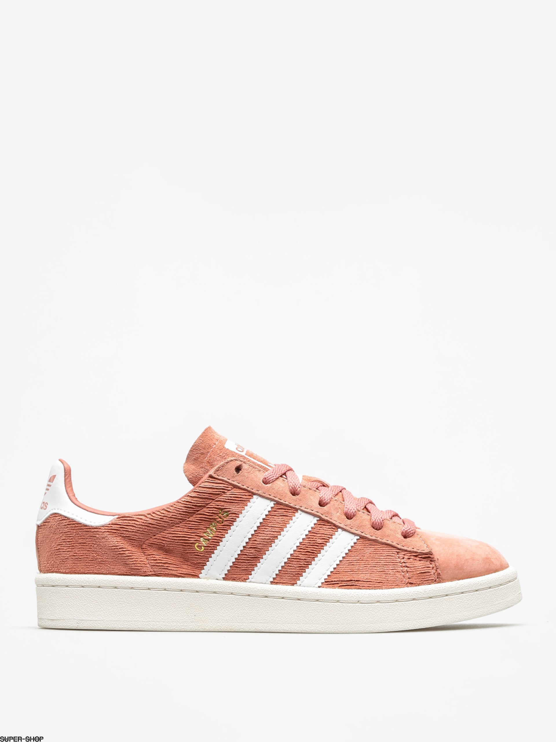 adidas Shoes Campus Wmn (raw pink f15/ftwr white/chalk white)
