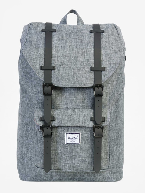 Herschel Supply Co. Rucksack Little America (raven crosshatch/black rubber)