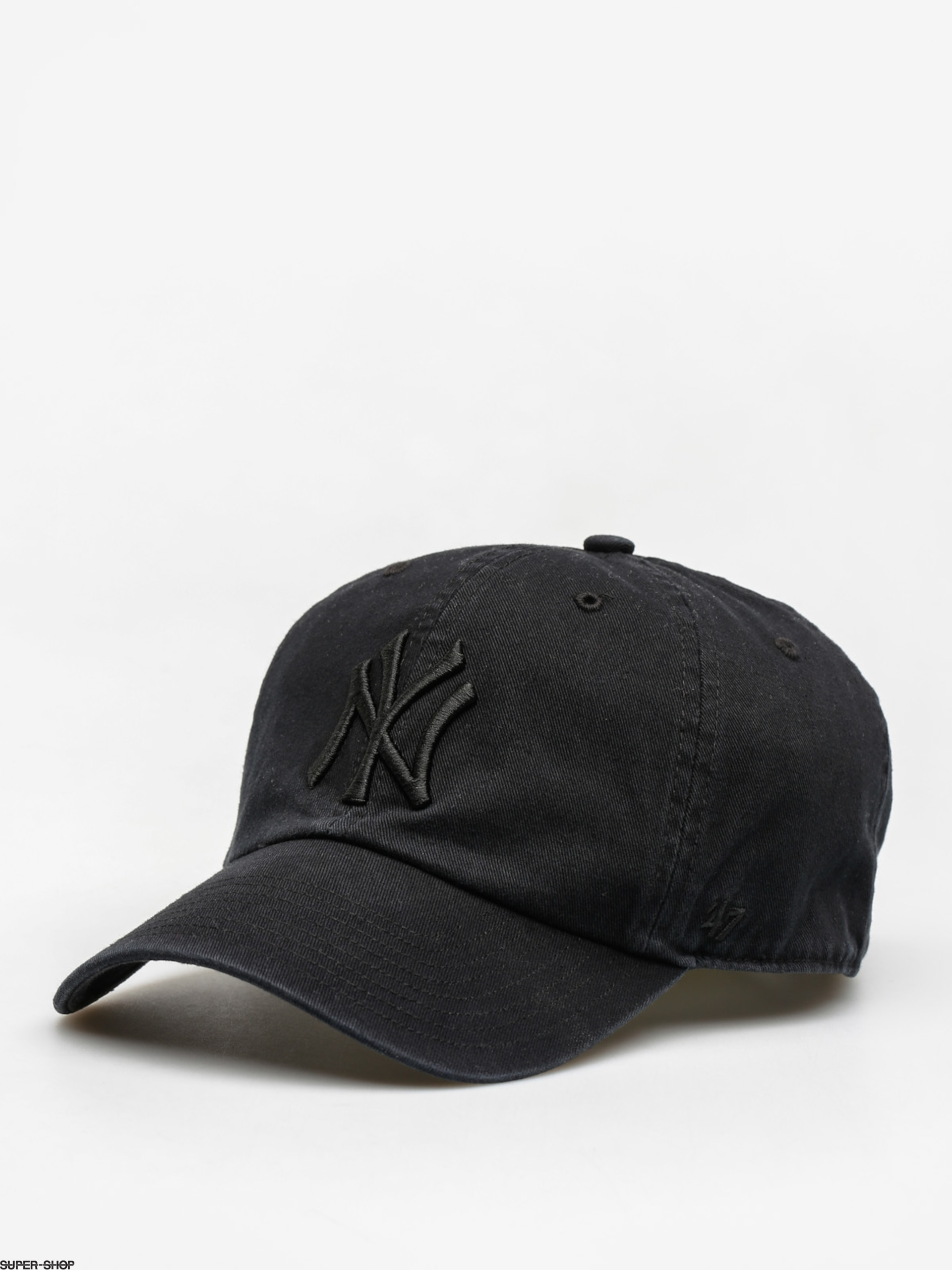 06aa264adf16d ... official 47 brand cap new york yankees zd all black 7636a c3a26