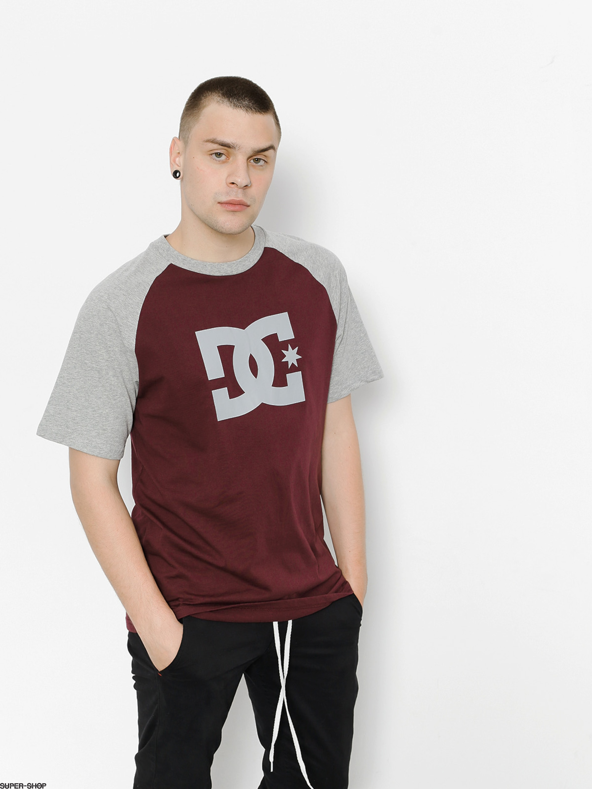 DC T-Shirt Star Raglan