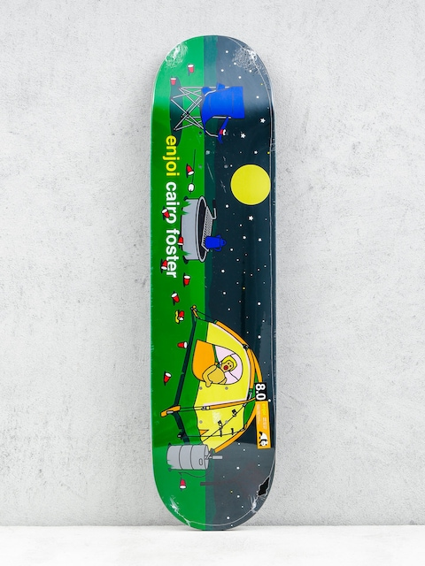 Enjoi Deck Sweet Home Pro R7 Foster (black/green)