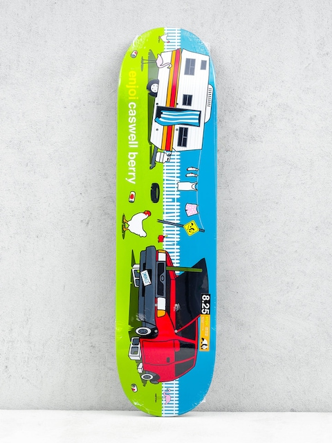 Enjoi Deck Sweet Home Pro R7 Berry (green/blue)